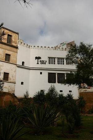 "Rick's Café in Casablanca. The place is well known from the classic movie ""Casablanca""."