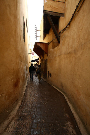 Lots of small alleys where it's impossible not to get lost.