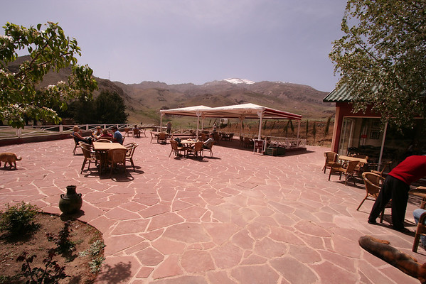 You can stop near the road for a quick lunch or just some drinks while enjoying the view.