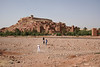 Aït Benhaddou is a traditional Mud Brick city on the edge of the High Atlas Mountains. It is on the UNESCO World Heritage List and was featured in many films, mostly as a replacement for Jerusalem.