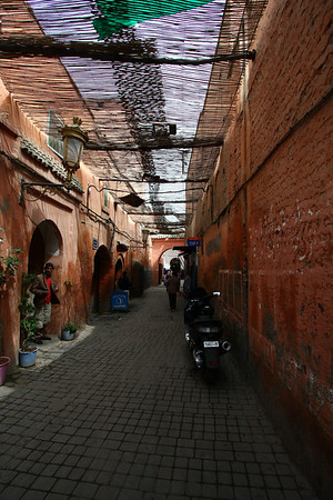Medina of Marrakesh.