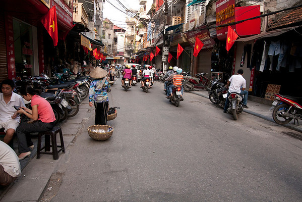 China Town part of the city.