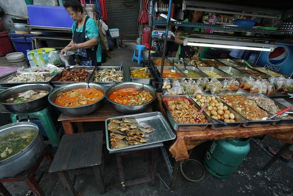 Street food in Bangkok.