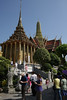 More temples at Wat Phra Kaew. Lots of tourists and no local people. They are nice but too commercial.