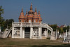 War cemetery in Kanchanaburi where war prisoners are buried.