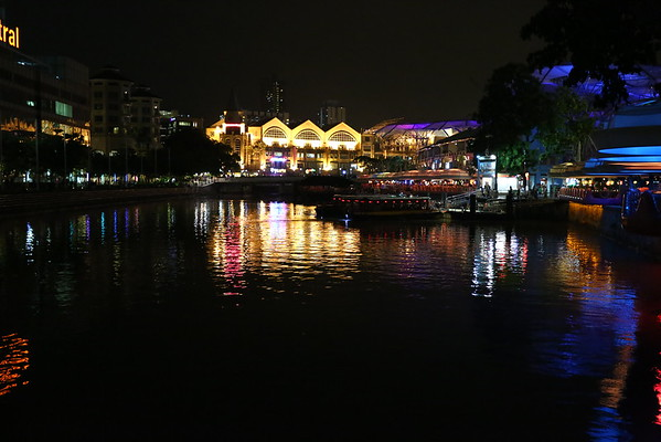 Clarke Quay - lots of restaurants and night clubs.