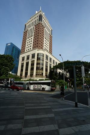 Not all skyscrapers are located near Marina Bay.