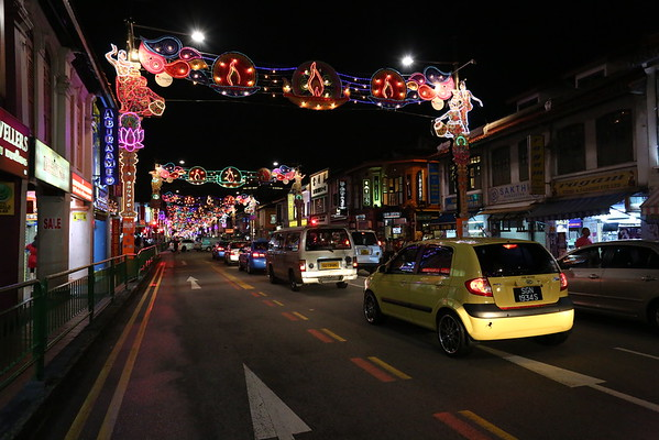 Little India by night.