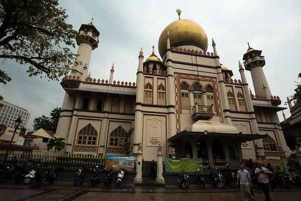 Sultan Mosque.