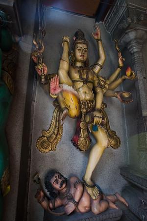 One of the many Hindu Gods.