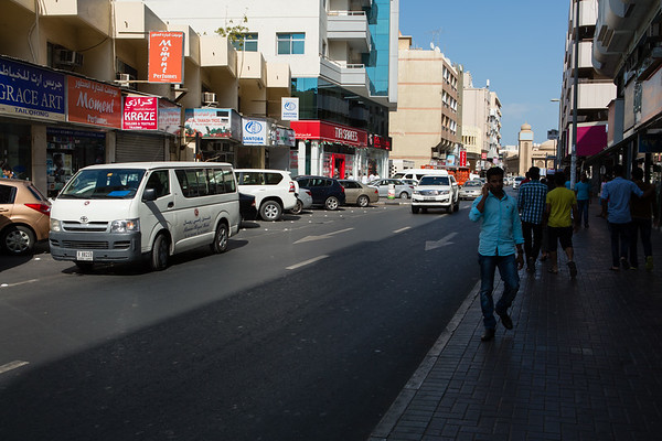 Old Dubai is where people with lower income are living and it feels like a different city.