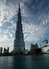 Burj Khalifa, the tallest building in the world, reaching 829m including the antenna.