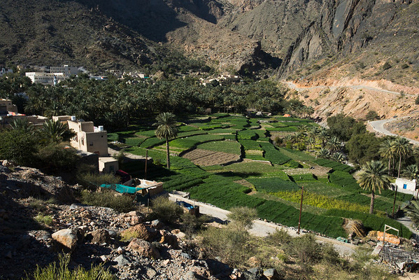 Bilad Sayt, probably the nicest village in the area.