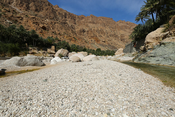 Wadi Tiwi. We didn't go deep enough and probably missed the most interesting parts.