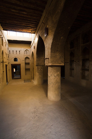 The walls are restored but unlike Jabrin fort there is not much inside the rooms.