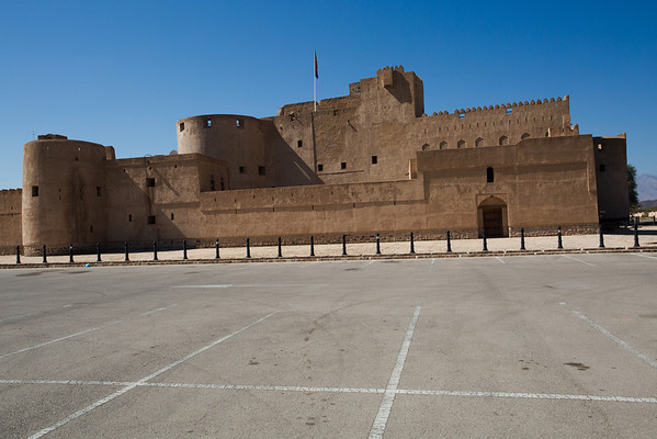 Jabrin fort, one of the most beautiful fort in the country.