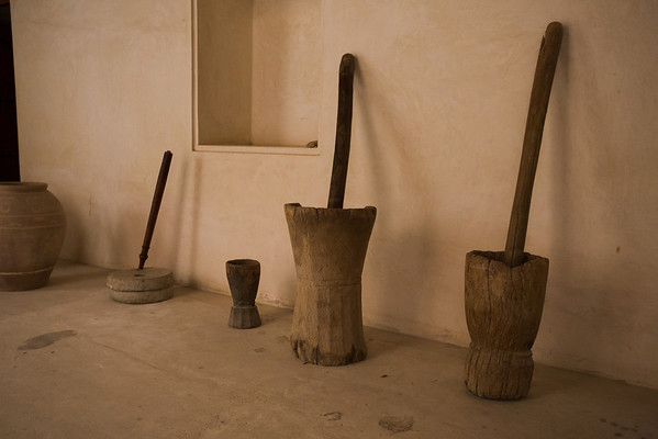 Women had to cook for a lot of people so they had good size mortar and pestles.