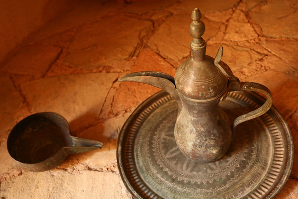 Traditional teapot.