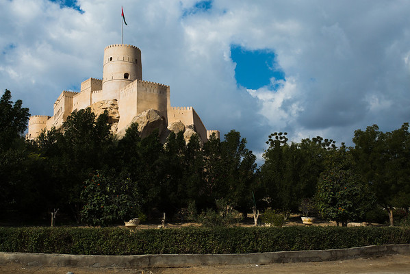 Nakhal fort, first build in pre-Islamic period but had many restorations and improvements. In 1990 it was fully renovated