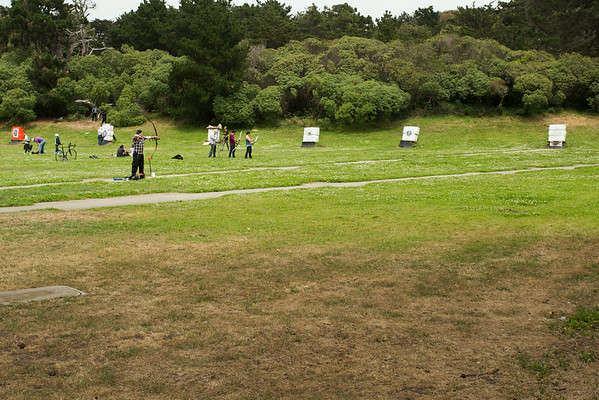 Or practice your archery skills in the park.