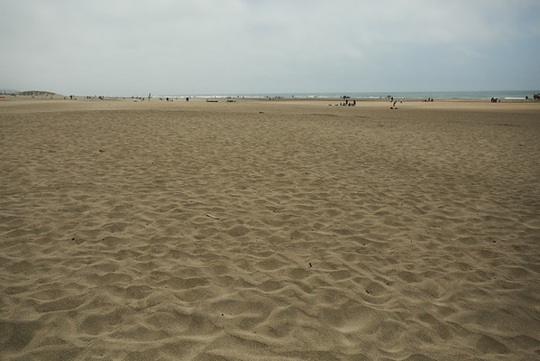 After crossing the park from east to west you end up at the beach.