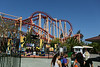 Six flags park, close to San Francisco.