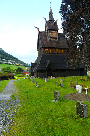 Hopperstad Stave Church is a medieval wooden Christian church. It is a stave church, once common in north-western Europe but most of them are now found in Norway.