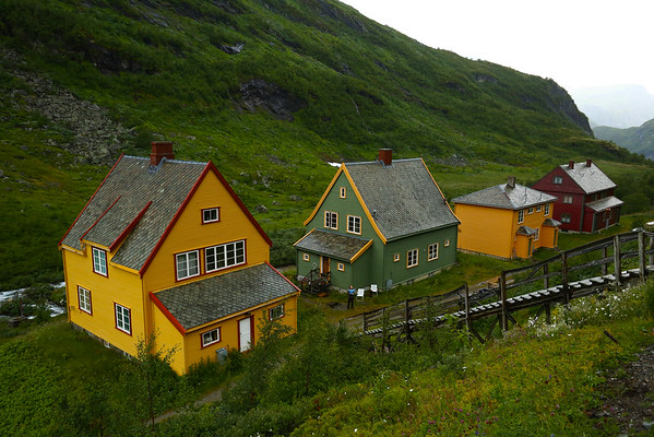 Myrdal is a small village on railway going to Oslo and Bergen. The road goes close to the village but you are not allowed to drive on the last segment.  The car must be left in a small parking area and walk 4 Km.