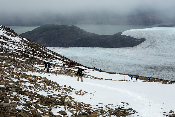 Grey Glacier is over 200 square kilometers.