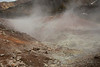 Not all the geysers smell, but in this case there was strong  sulfur odor.