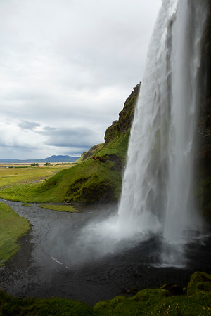Seljalandsfoss, a very well known waterfall on south ring. This part of the country is normally overcrowded with tour groups, but not this year.