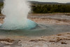 The main geyser was spouting at random intervals between 4 and 15 minutes during our visit.