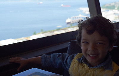 Mothers Day 2012 part 1: Space Needle brunch and Kubota Gardens