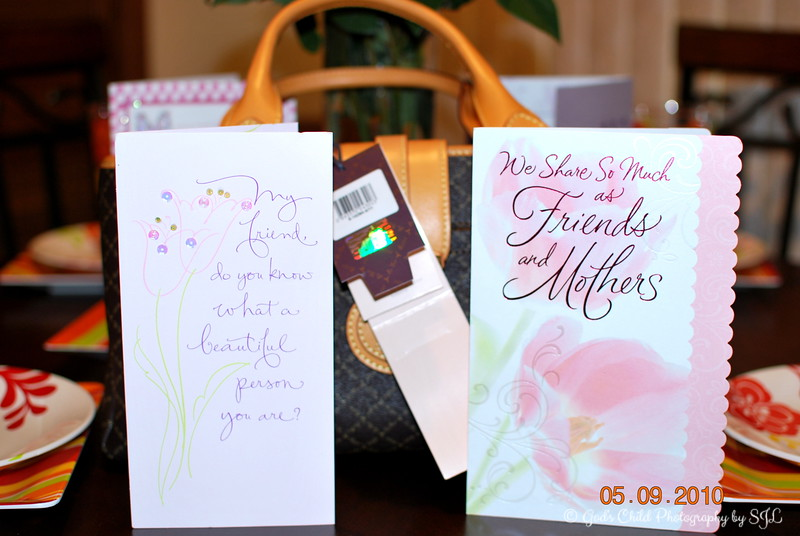"""""""MOTHER'S DAY"""" 2010<br /> <br /> Cards from my best friend and a designer purse from Paris.....I have not seen anyone in the states carrying a purse by this designer!"""