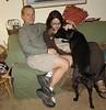 Jeff, Maureen, and dog