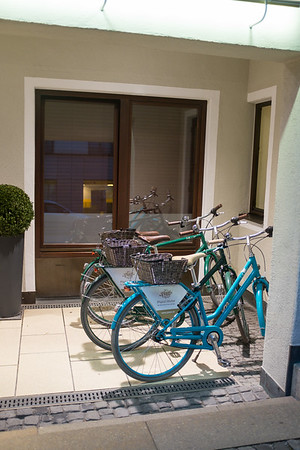Hotel bycicles