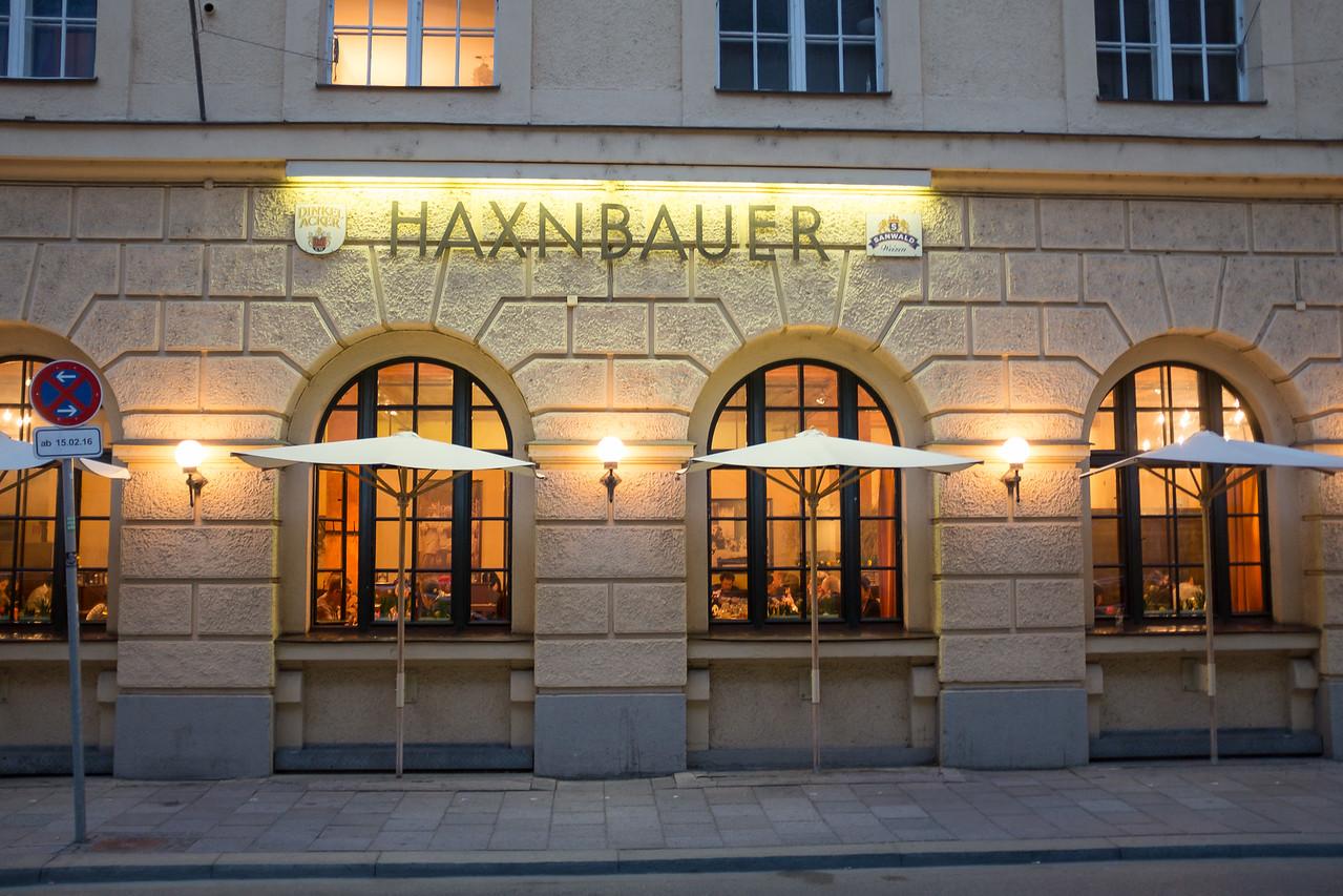 Haxnbauer - haxn another munich speciality