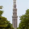 One minar of the Grand mosque.