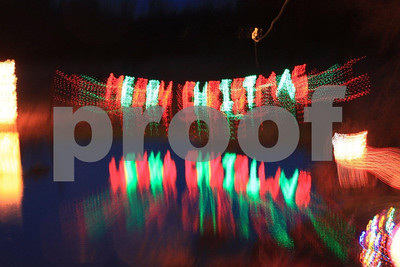 Christmas lights,