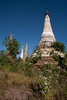 Indein, a place where the jungle invaded the stupas. They haven't been restored and are a major attraction in the area.
