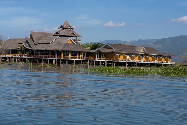 Luxury resort for tourists.