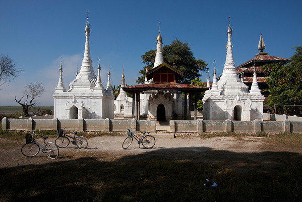 To get away from the tourist trail you can rent a bicycle and go in the nearby villages.