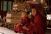 Two monks and one novice were taking care of the monastery.