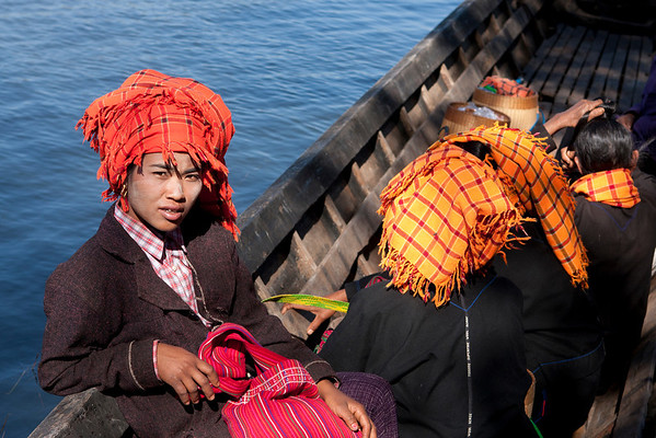 Pao Tribe women returning from the market.