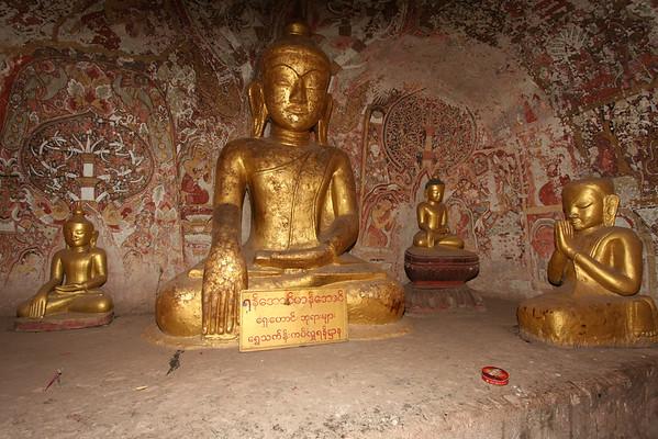 Hpo Win Daung Caves near Monywa.