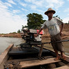 Our boatman for crossing the river to Inwa.