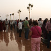 During more than 3 weeks this has been the place with most tourists. People traveling in organized groups are also coming here for sunset. After leaving Mandalay we managed to avoid all popular places for sunset / sunrise.