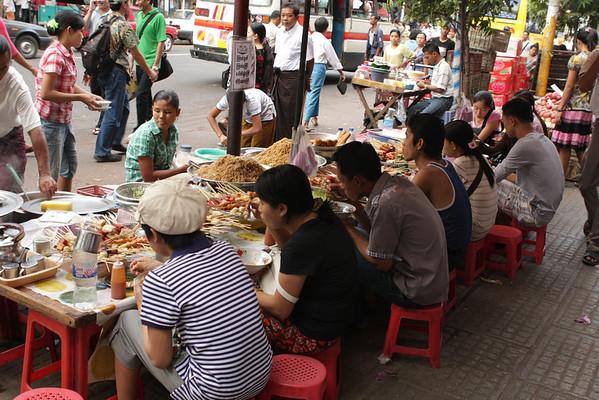 Street food looking very nice.