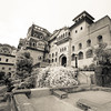 Main building. Neemrana fort.
