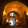 Main entrance corridor- Neemrana fort.